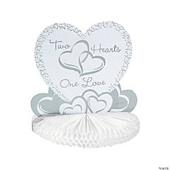 Two Hearts Wedding Centerpiece