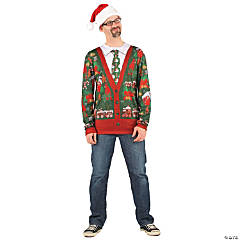 Ugly Christmas Sweater Shirt for Adults
