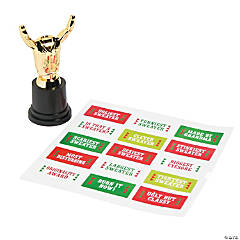 Ugly Sweater Costume Trophies