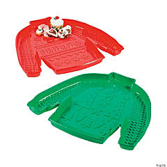 Ugly Sweater Serving Trays