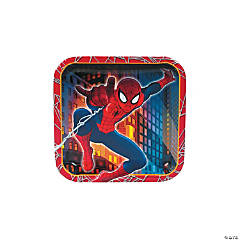 Ultimate Spider-Man Dessert Plates