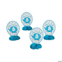 Umbrellaphants Blue Honeycomb Decorations