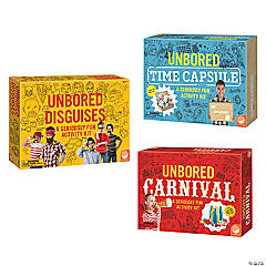 Unbored Activity Kits: Set of 3