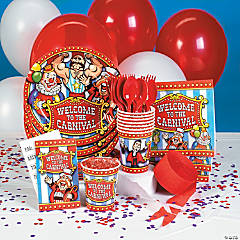 Under the Big Top Party Supplies