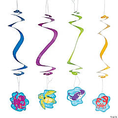 Under the Sea Animal Hanging Swirls