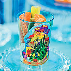 Under the Sea Coral Reef Veggie Cup VBS Recipe Idea