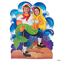 Under the Sea Couples Photo Stand-Up