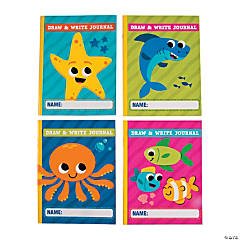 Under the Sea Draw & Write Journals