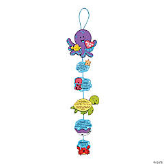 Under the Sea Gimme Five Bible Verses Craft Kit