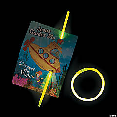 Under the Sea Glow Bracelets with Card