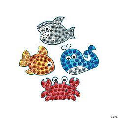 Under the Sea Jewel Mosaic Craft Kit