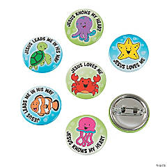 Under The Sea Mini Buttons