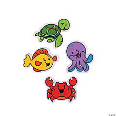 Under the Sea Mini Erasers