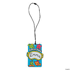 Under the Sea Name Tag Necklace Craft Kit