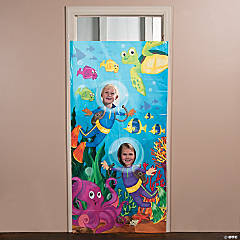 Under the Sea Photo Door Banner