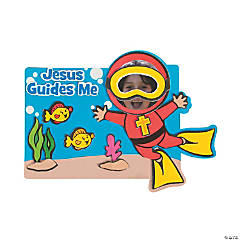 Under the Sea Picture Frame Magnet Craft Kit - 48