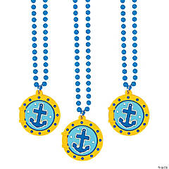 Under the Sea Porthole Beaded Necklaces