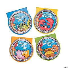 Under the Sea Porthole Notepads
