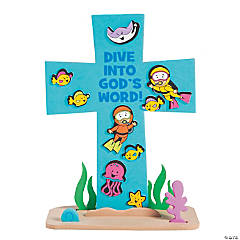Under the Sea Stand-Up Cross Craft Kit