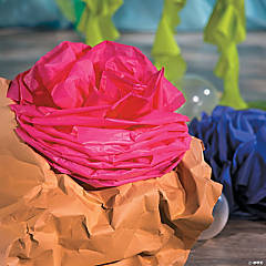 Under the Sea Tablecloth Roll Coral Décor Idea