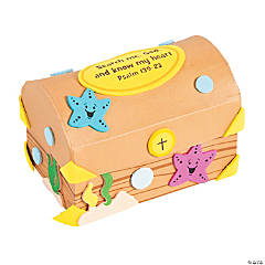 Under the Sea Treasure Chest Prayer Box Craft Kit