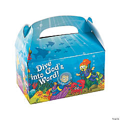 Under The Sea Treat Boxes