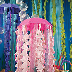 Under the Sea Umbrella Jelly Fish Décor Idea