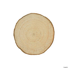 Unfinished Wood Slices Large