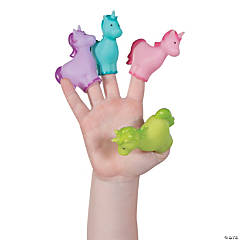 Unicorn Finger Puppets