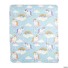 Unicorn Fleece Throw