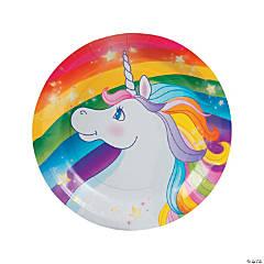 Unicorn Paper Dessert Plates