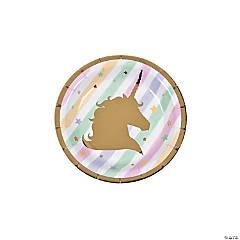Unicorn Sparkle Dessert Plates