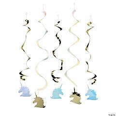 Unicorn Sparkle Hanging Swirls