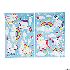 Unicorn Wall Clings