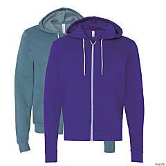 Unisex Full-Zip Hooded Sweatshirt by Bella + Canvas