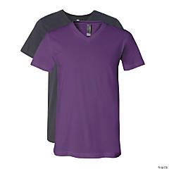 Unisex Short Sleeve V-Neck T-Shirt by Bella + Canvas