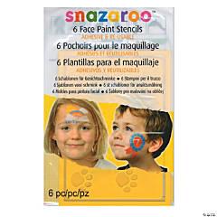 Unisex Snazaroo Face Paint Stencils