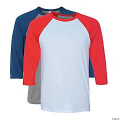 Unisex Three-Quarter Sleeve Baseball T-Shirt by Bella + Canvas