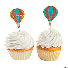 Up & Away Cupcake Picks