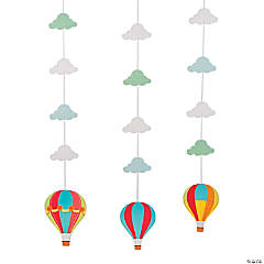 Up & Away Hanging Cutouts