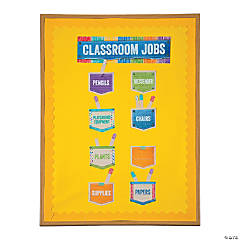 Upcycle Classroom Job Mini Bulletin Board Set