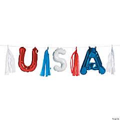 USA Balloon Garland