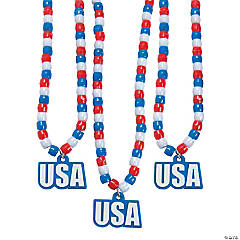 USA Beaded Necklaces