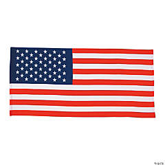 USA Flag Beach Towel