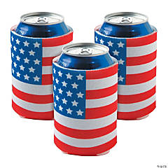 USA Flag Can Covers