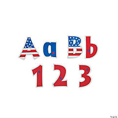 USA Letter Pop-Outs
