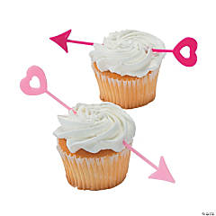Valentine Arrow Cupcake Picks