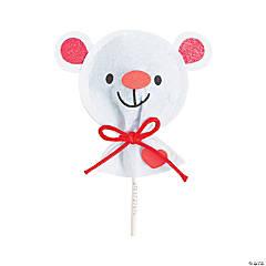 Valentine Bear Lollipop Covers Craft Kit