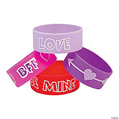 Valentine Big Band Bracelets