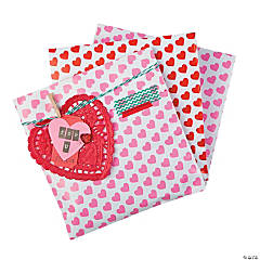 Valentine Candy Pouches Idea